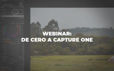 Webinar: De cero a Capture One