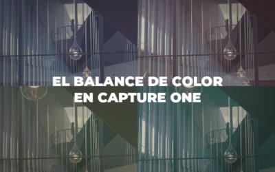 El Balance de Color en Capture One