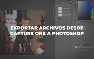 Exportar archivos desde Capture One a Photoshop