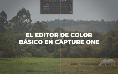 Editor de color básico en Capture One
