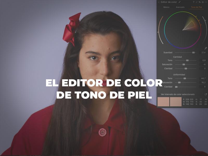 Editor de color de tono de piel