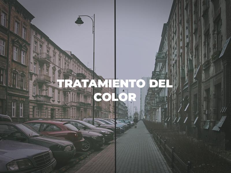Tratamiento del color