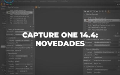 Capture One 14.4: Novedades